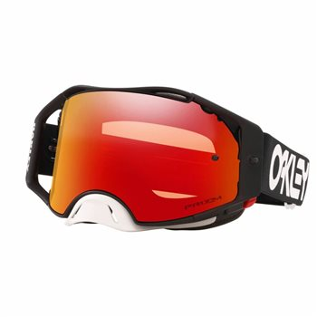 Oakley MX Goggles Airbrake Factory Pilot Blackout (Prizm Torch Iridium Lens)  - Click to view larger image