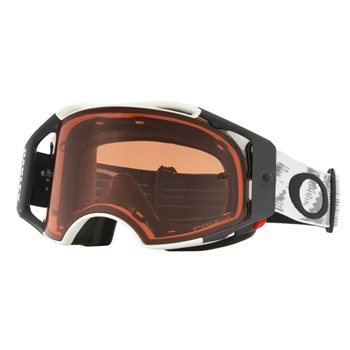Oakley MX Goggles Airbrake Matte White Speed (Prizm Bronze Lens)  - Click to view larger image