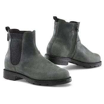 TCX Staten Waterproof Motorcycle Boots (Grey)  - Click to view larger image