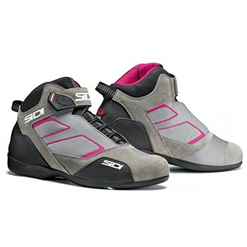 RST Meta Motorcycle Boots (Grey|Pink)   - Click to view larger image