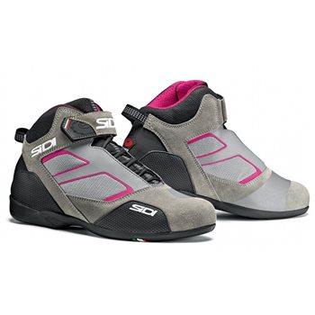 Sidi Meta Motorcycle Boots (Grey Pink)   - Click to view larger image