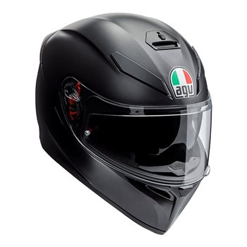 Agv K3 Sv S Matte Black Motorcycle Helmet The Visor Shop Com