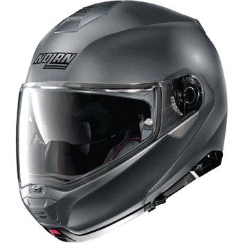 Nolan N100-5 Classic N-Com Flip Front Helmet (Flat Vulcan Grey)  - Click to view larger image