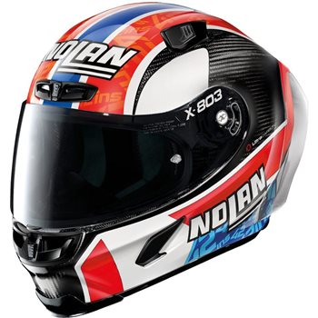 X-Lite X-803 Ultra Carbon RS Replica Helmet (A.Rins/Carbon)  - Click to view larger image