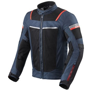 Revit Tornado 3 Textile Motorcycle Jacket (Dark Blue|Black)  - Click to view larger image