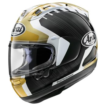 Arai RX-7V Jonathan Rea Gold Edition Motorcycle Helmet  - Click to view larger image