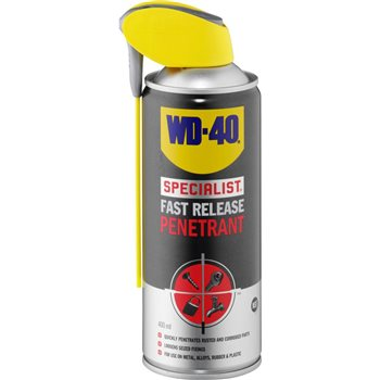 WD40 Specialist Fast Release Penetrant Spray 400ml  - Click to view larger image