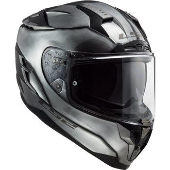 LS2 FF327 Challenger Jeans Helmet (Titanium)  - Click to view larger image