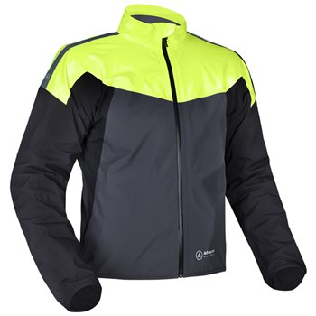 Oxford Rainseal Pro Over Jacket (Grey/Black/Yellow)  - Click to view larger image