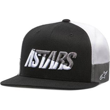 Alpinestars Faster Hat (Black/White/Grey) The Visor Shop.com