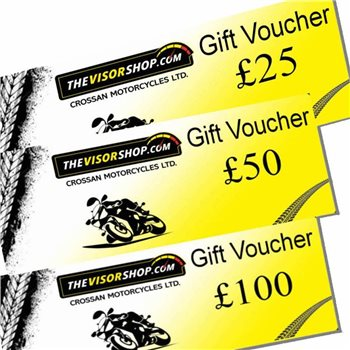 TheVisorShop E-Gift Vouchers  - Click to view larger image