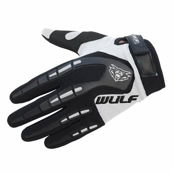Wulfsport Attack MX Gloves (Black/White)  - Click to view larger image