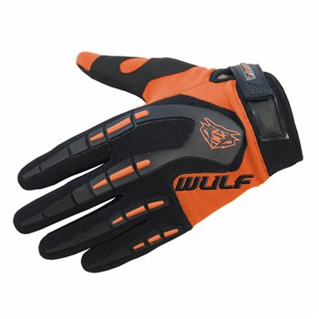 Wulfsport Attack MX Gloves (Orange)  - Click to view larger image