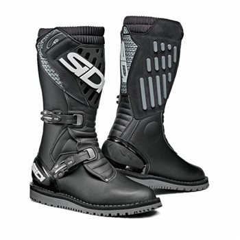 Sidi Trial Zero 2 CE Off-Road Motorcycle Boots (Black) 1