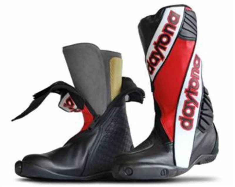 Daytona Security Evo 3 Standard Boots (Red) -OUTER ONLY 1