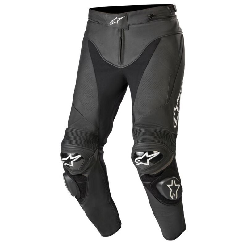 Alpinestars Track v2 Leather Trousers (Black) 1
