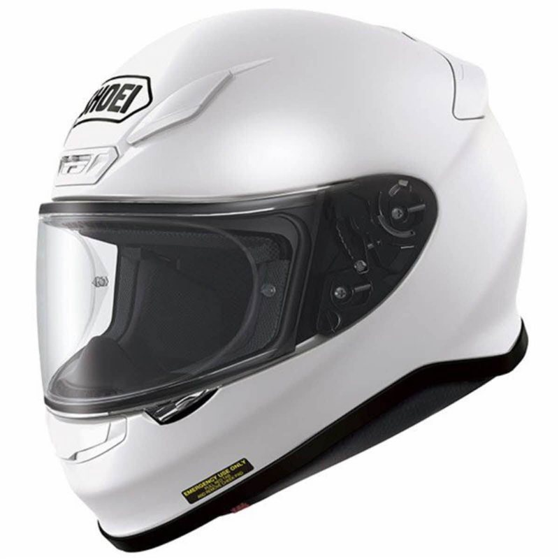 Shoei NXR White Helmet  1