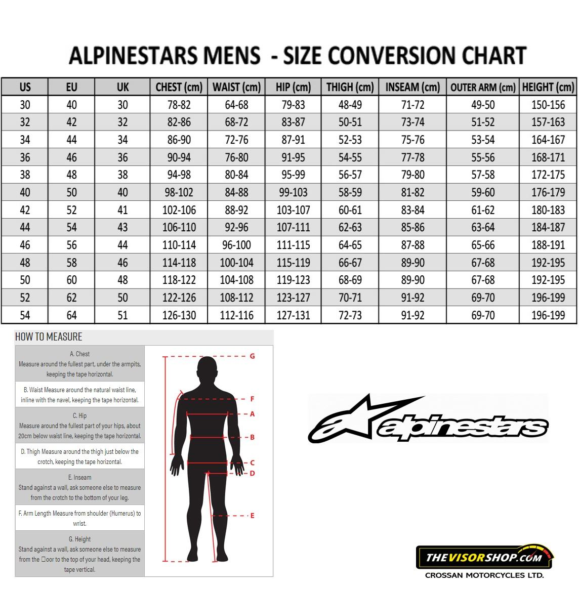 Alpinestars_Mens_One_Piece_Leathers_Size_Chart