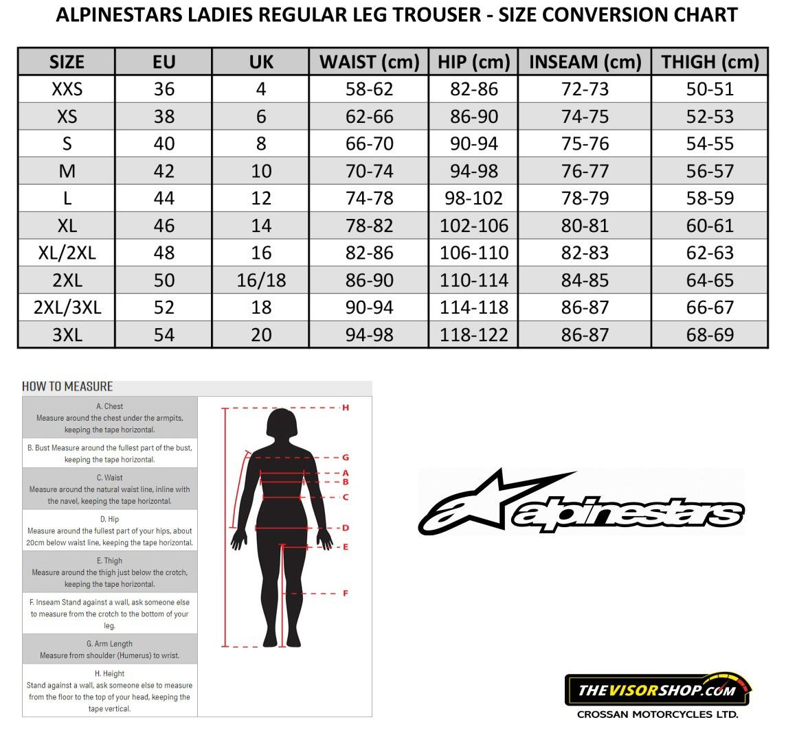 Alpinestars_Womens_Motorcycle_Trousers_Size_Chart