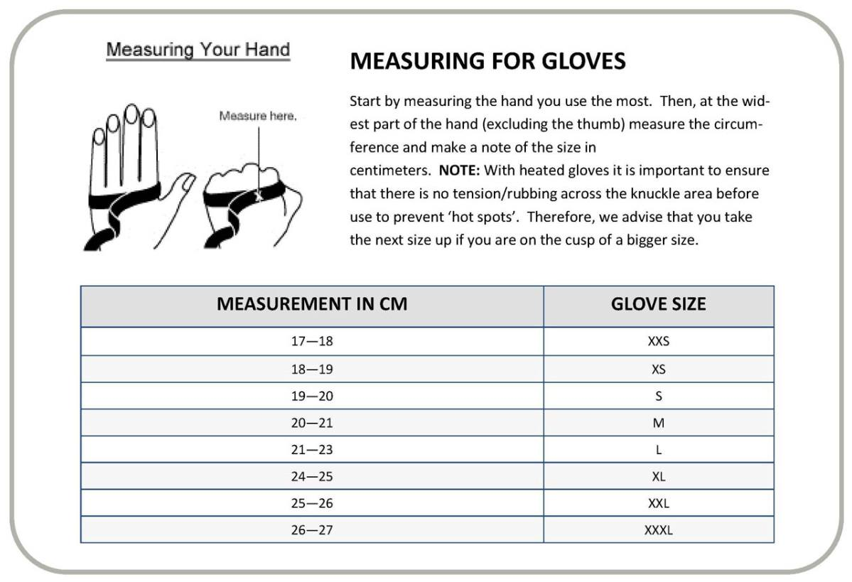 Gerbing_Heated_Gloves_Size_Chart