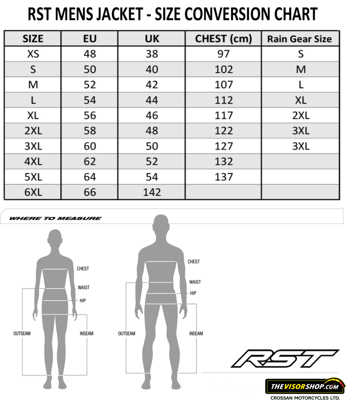 Rev'it_Gloves_Size_Chart