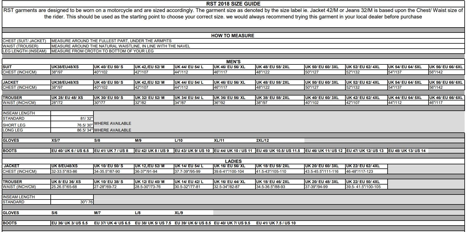 RST_Size_Chart